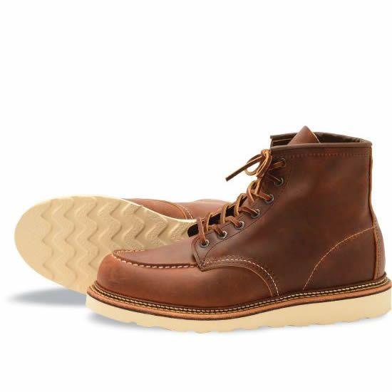 c61b7bede0c25 1907 Moc Copper Rough & Tough – RedWing Shoes